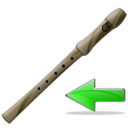 flute,back,instrument,left,prev,backward,previous,arrow