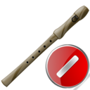 flute,cancel,instrument,stop,no,close