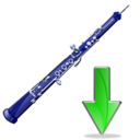 oboe,down,instrument,descend,download,fall,decrease,descending