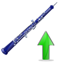 oboe,oboe up,up,instrument,ascend,rise,ascending,upload,increase
