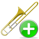 trombone,add,instrument,plus