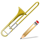 trombone,write,instrument,writing,edit
