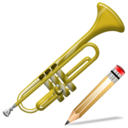 trumpet,write,instrument,writing,edit