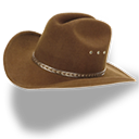 hat,cowboy,brown