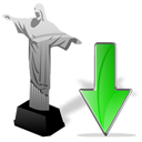 cristoredentor,down,descend,download,fall,decrease,descending