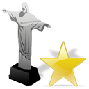 cristoredentor,star,favourite,bookmark