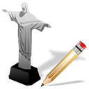 cristoredentor,write,writing,edit