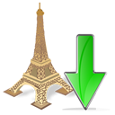 torreeiffel,down,descend,download,fall,decrease,descending