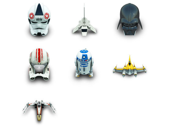 descargar star wars icons gratis