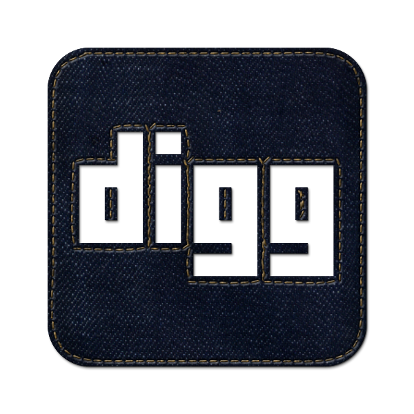 denim,jean,social,digg,logo,square