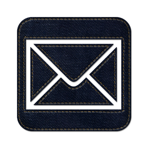 denim,jean,social,mail,square,envelop,message,email,letter