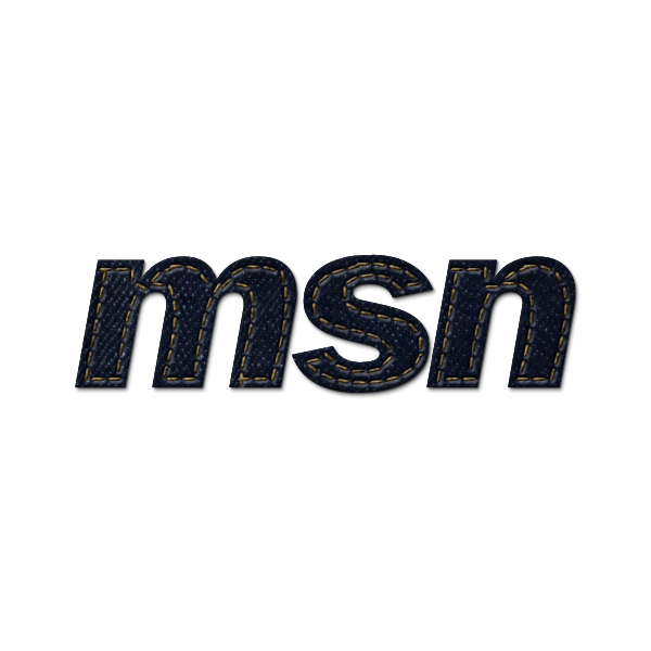 denim,jean,social,msn,logo