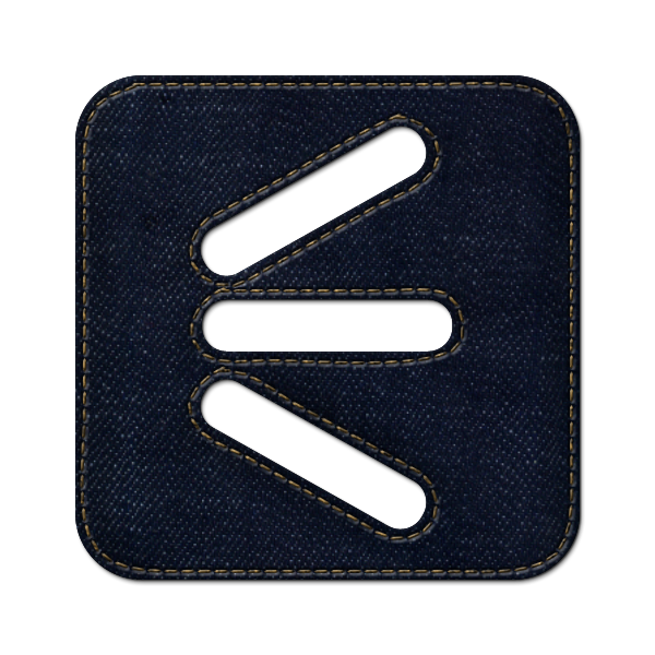 denim,jean,social,shoutwire,logo,square