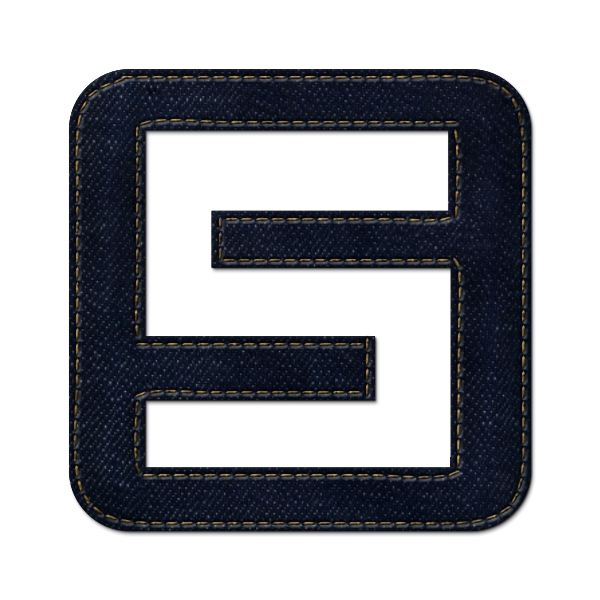 denim,jean,social,spurl,logo,square
