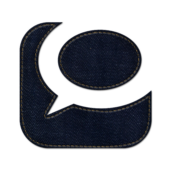 denim,jean,social,technorati,logo