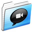 ichat,folder,stripe