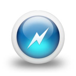 Glossy 3d Blue Power Icon Png Ico Or Icns Free Vector Icons