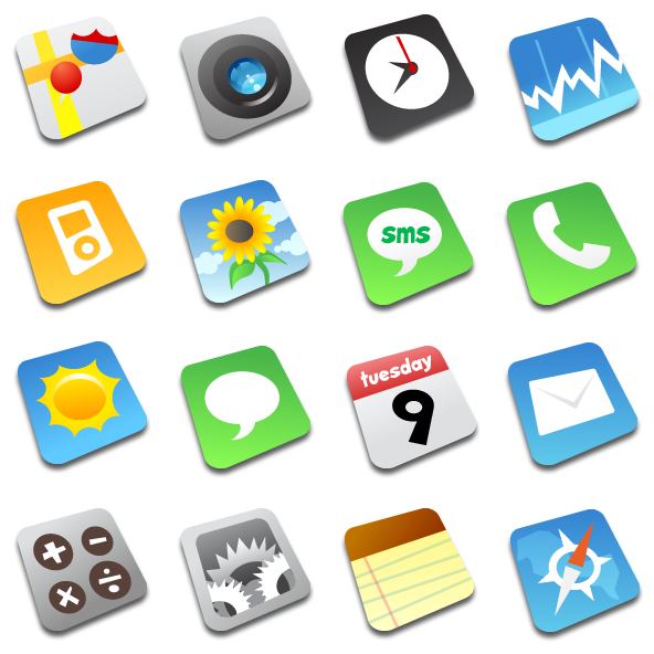 Fast Icons Download Comic Iphone Icon Pack by Fast