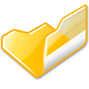 folder,yellow,open
