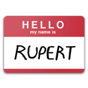 hello,name,rupert,my name is eda