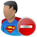 superman,delete,hero,cartoon,del,remove