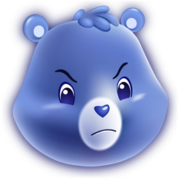 Grumpy Bear Icon Png Ico Or Icns Free Vector Icons