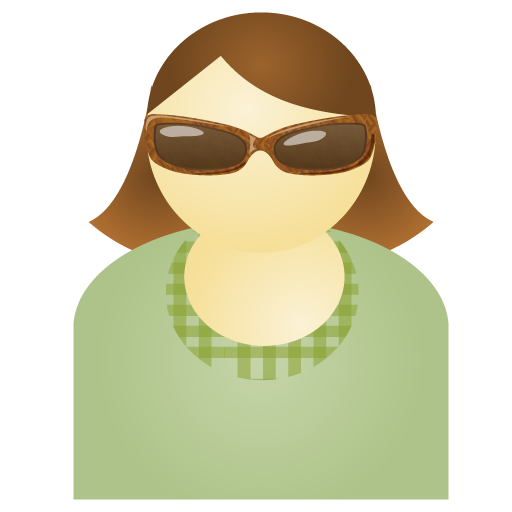 sunglass,woman,green,account,person,people,human,user,female,member,profile