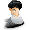 ayatollah,ali,khamenei,man,cartoon,leader,account,male,person,people,profile,human,member,user