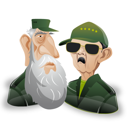 fidel,raul,castro,man,cartoon,leader,account,male,person,people,profile,human,member,user