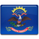 north,dakota,flag