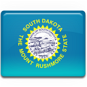 south,dakota,flag