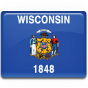 wisconsin,flag