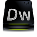 adobe,dreamweaver,cs,black