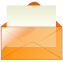 mail,orange,envelop,message,email,letter