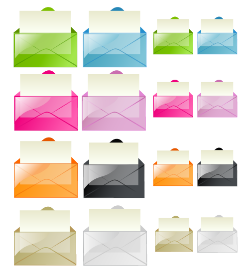 transparentmailicons,all,envelop,email
