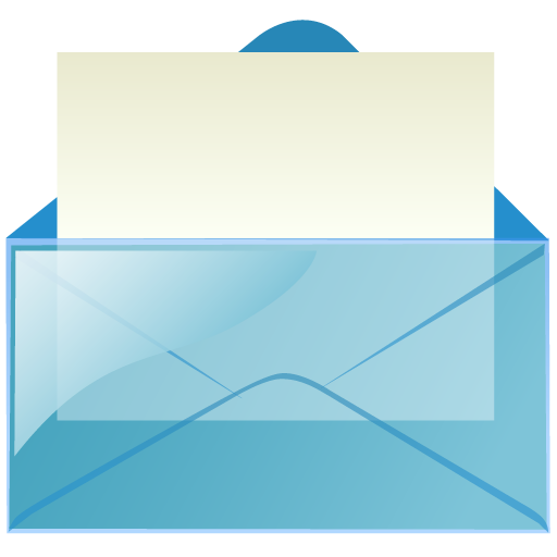 mail_blue icons, free icons in Transparent Mail, (Icon ...