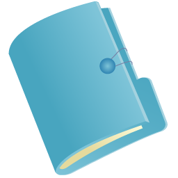Document Folder Blue Icon Png Ico Or Icns Free Vector Icons