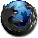 black,firefox,browser
