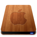 wooden,slick,apple,drive