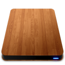 wooden,slick,external,drive