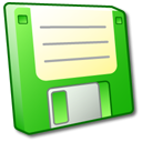 floppy,disk,green,disc,save