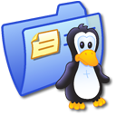 folder,blue,linux