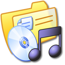 folder,yellow,music