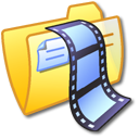 folder,yellow,video