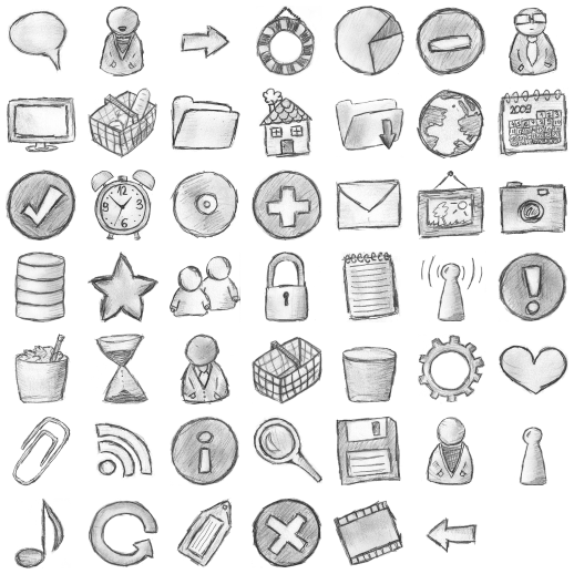 Hand Drawing Line Icons : Hand drawing free icons icon search engine