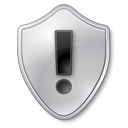 warning,shield,grey,protect,guard,security,alert,exclamation,wrong,error