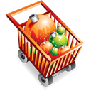 shoppingcart,full,christmas,e commerce