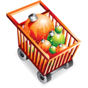 christmas,shopping,cart,commerce,buy,shopping cart