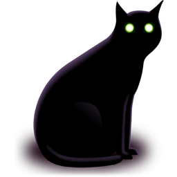 Black Cat Icon Png Ico Or Icns Free Vector Icons