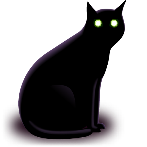 Black Cat icons, free icons in Hallowen, (Icon Search Engine)